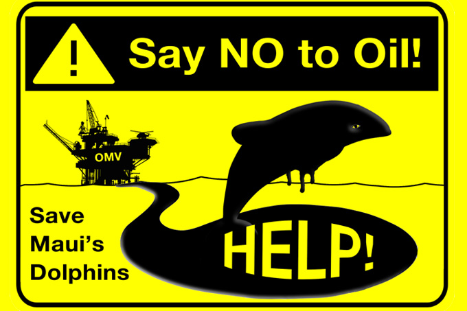 No to oil