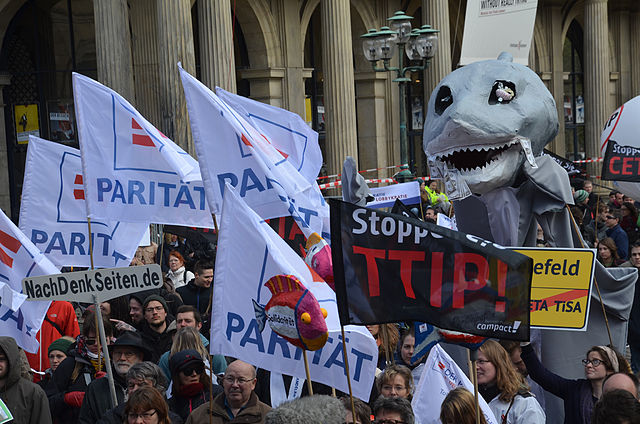 Anti TTIP Demonstration